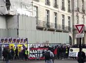 #Nantes #antifa cortège tête chez #giletsjaunes JOIE.