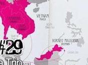 Fille seule voyage Laos, Indonesie mois Asie