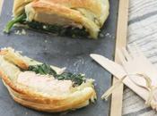 Feuilleté saumon épinard