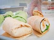 Recette wrap laitue poulet légumes (Chine)