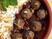 Boulettes d'agneau mélasse grenade (Daoud Bacha)