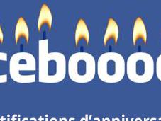 Comment activer désactiver notifications d'anniversaire facebook