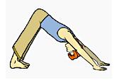 Quelques postures yoga soulagent maux ventre
