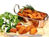 Pommes terre rôties l'ail romarin,