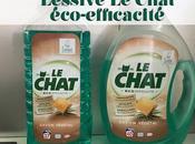 J'ai testé lessive Chat éco-efficacitéau savon végétal