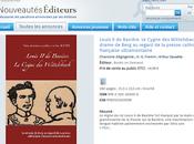 Cygne Wittelsbach annoncé Bibliothèque nationale France (Nouveautés Editeurs)