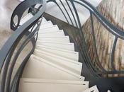Escalier design création sculpture