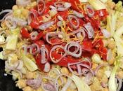 Salade boulgour pois chiches