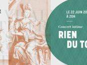 Rien tout Festival baroque Montréal, Caroline Gélinas Olivier Godin récital lyrique perspective