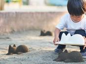 Neko Cup, moules pour créer d'adorables pâtés sables forme chats