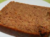CAKE MOELLEUX BEURRE CACAHUETE (sans gluten, végétalien)