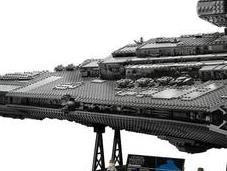 LEGO gigantesque Destroyer Imperial pour collaboration avec Star Wars