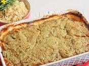 Lasagnes sans pâte Pâtisson, courgette, lentilles capucine (Vegan)