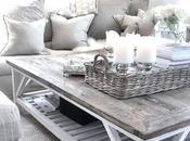 White Coffee Table Decor