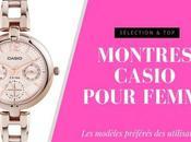 sélection meilleures montres Casio pour femme