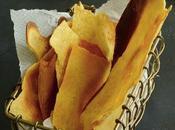 Chips croustillantes socca