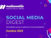 Social Media Digest Octobre retour actualités réseaux sociaux