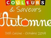 Défi cuisine octobre 2019 couleurs saveurs d'automne