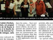 ateliers slam l'université Limoges