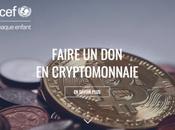 L'UNICEF cryptomonnaies