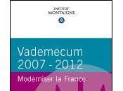 """Vademecum 2007-2012 Moderniser France"""