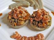 barigoule crevettes avec saveurs épicées