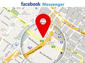 Partager position temps réel Facebook Messenger