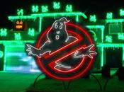 installe show lumineux Ghostbusters maison