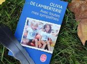 Avec toutes sympathies d'Olivia Lamberterie