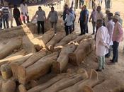 trentaine sarcophages découverts Louxor
