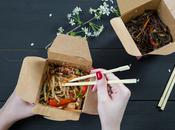 Emballage alimentaire écologique pour plats chauds