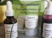 produits ordinary pour éliminer taches brunes