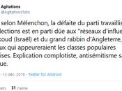 L'explication Mélenchon défaite Corbyn est-elle antisémite