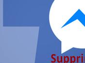 Comment supprimer messages Facebook?