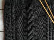 Tricoter snood côtes torsades pour adulte homme femme