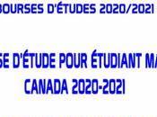 Bourses D'études MAECD Canada 2020-2021