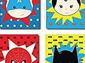 décorations pour chambre d'enfant super-héros