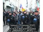 Acte Gilets Jaunes convergence