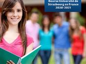 Bourse Université Strasbourg France 2020-2021