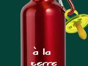 Gourde. bouteille Terre