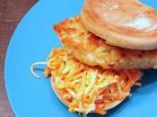 Burgers poisson avec remoulade carottes céleri-rave