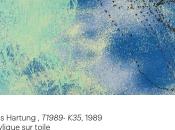 Hans Hartung Musée d'art moderne, fabrique geste jusqu'au mars