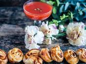Feuilletés sauce tomate région Marmande pesto
