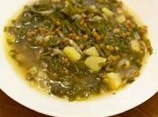 Adass hamod, soupe blettes lentilles