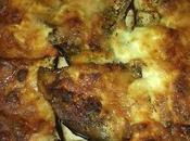 lasagnes bœuf, aubergines burrata