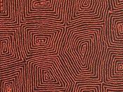 Focus peinture aborigène Barney Campbell TJAKAMARRA