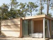 Villa bois architecture ouverte pinède Soulac-sur-Mer