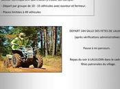 Rando quads motos comité fêtes Laujuzan (32), samedi juillet 2020