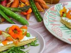 Tarte fine légumes printemps