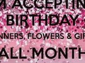 Wishlist cadeaux d'anniversaire pour
